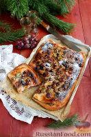 Фото к рецепту: Тосканский пирог с виноградом