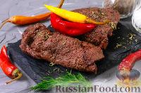 Фото к рецепту: Говяжье сердце фламбе