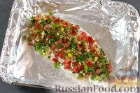 Фото приготовления рецепта: Запеченная треска - шаг №7