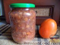 Фото к рецепту: Варенье из яблок и хурмы