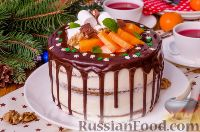 """Фото к рецепту: Торт """"Женский каприз"""""""