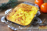 Фото к рецепту: Хурма, запеченная в соусе