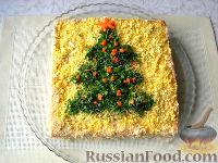 """Фото к рецепту: Закусочный торт """"Застольный"""""""