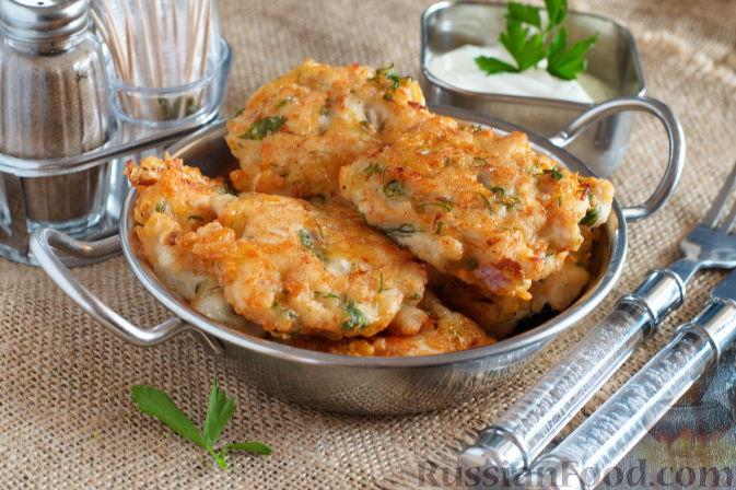 куриные котлеты с сыром и зеленью рецепт с фото