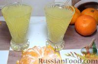 Фото к рецепту: Водка мандариновая