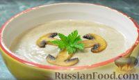 Фото к рецепту: Крем-суп из шампиньонов и картофеля (в мультиварке)