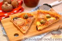 Фото к рецепту: Американская пицца