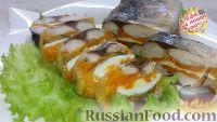 Фото к рецепту: Холодная закуска из скумбрии с овощами и яйцом