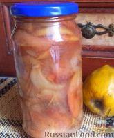 Фото к рецепту: Варенье из груш и айвы