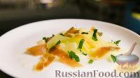 Фото к рецепту: Салат с дыней, прошутто и мятой