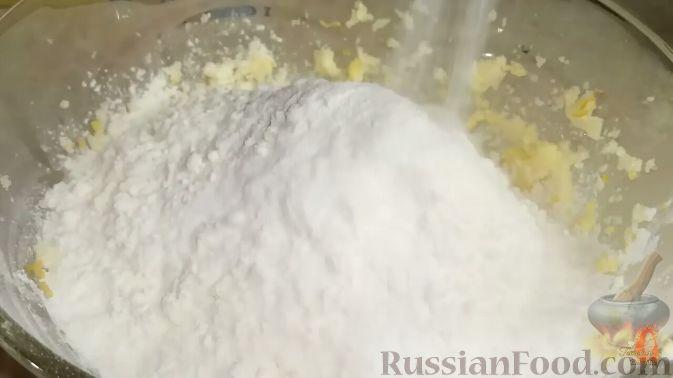 Фото приготовления рецепта: Апельсиновый кекс на Рождество - шаг №4