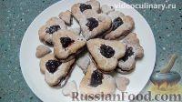Фото к рецепту: Черничное печенье из миндального теста