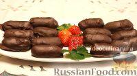 Фото к рецепту: Сырки в шоколаде