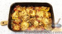 Фото к рецепту: Болгарский перец с пармезаном