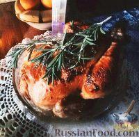 Фото к рецепту: Курица с мандаринами