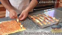Фото приготовления рецепта: Сырные палочки из слоёного теста - шаг №9