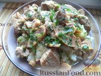 Фото к рецепту: Мясо с айвой