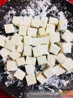 Фото приготовления рецепта: Коричневый рис басмати с тофу, болгарским перцем и апельсином - шаг №9