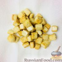 Фото приготовления рецепта: Коричневый рис басмати с тофу, болгарским перцем и апельсином - шаг №11