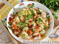 Фото к рецепту: Куриное филе с пекинской капустой