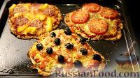 Фото приготовления рецепта: Пицца на тортилье (3 варианта) - шаг №13