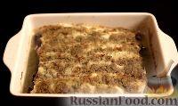Фото к рецепту: Хек, запечённый в духовке, под пряной корочкой