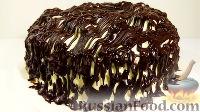 """Фото к рецепту: Торт """"Пинчер"""" с черносливом"""
