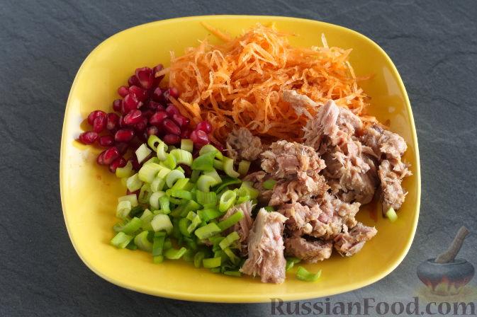Фото приготовления рецепта: Куриные голени, запечённые с картофелем и цветной капустой (в рукаве) - шаг №7