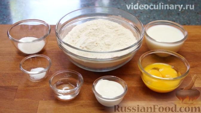 Фото приготовления рецепта: Хинкали с сыром сулугуни - шаг №13