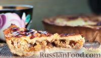 Фото к рецепту: Пирог с тыквой и курицей