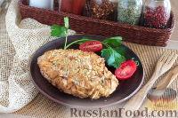 Фото к рецепту: Куриная грудка в миндале