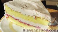 Фото к рецепту: Домашний клюквенный торт