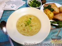 Фото к рецепту: Токмач (татарский суп-лапша)