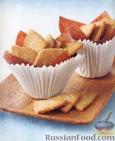 Фото к рецепту: Румяное сахарное печенье