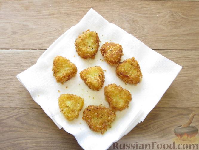 Фото приготовления рецепта: Булочки-гребешки с повидлом - шаг №11