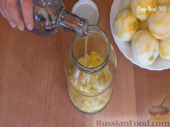 Фото приготовления рецепта: Творожная запеканка с тыквой и курагой (без яиц и муки) - шаг №7