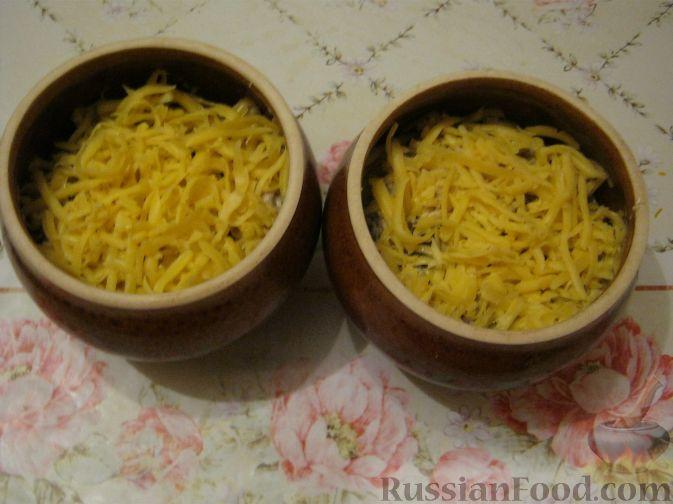 как готовить жульен с грибами и курицей на сковороде рецепт с фото