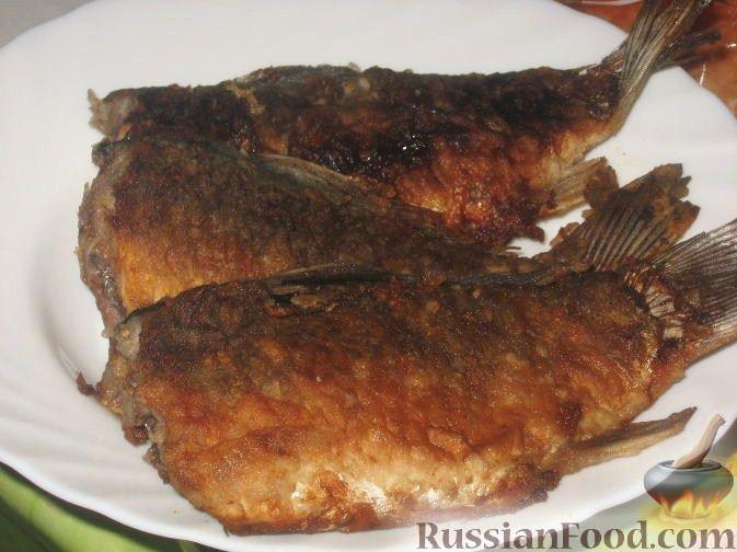 Рецепт Караси жареные