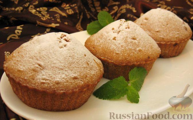 Рецепт вкусных кексов с изюмом песочный