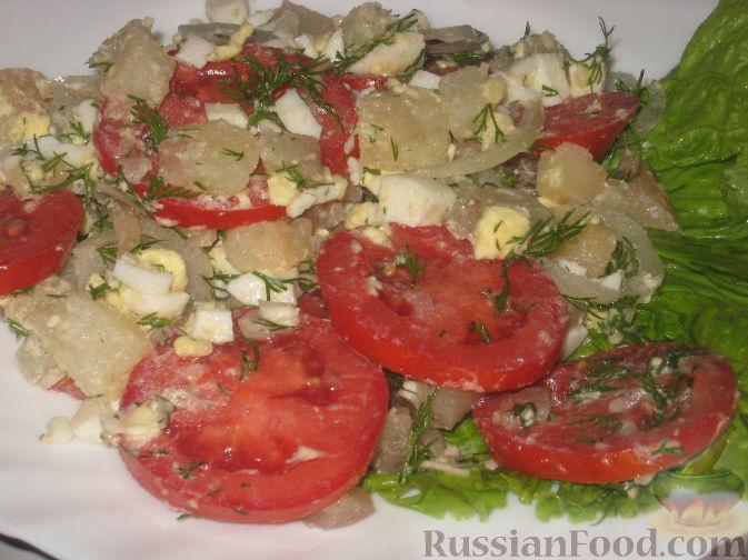 Рецепт Салат «Синьор помидор»
