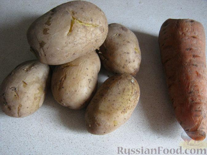 Фото приготовления рецепта: Куриные потрошки с яйцом и луком - шаг №9
