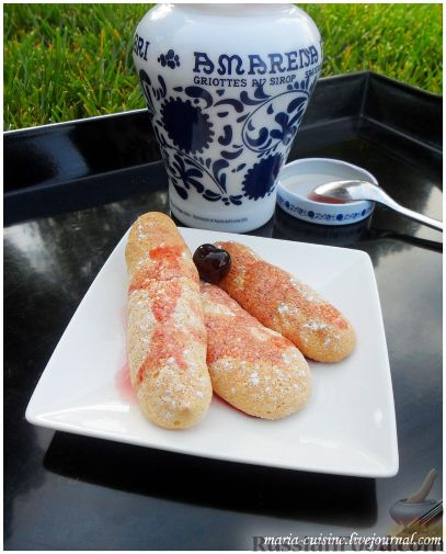 Рецепт Biscuit à la cuiller - Дамские пальчики - Савоярди