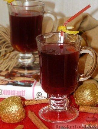 Рецепт Яблочный глинтвейн