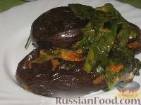 Фото к рецепту: Баклажаны квашеные с морковью