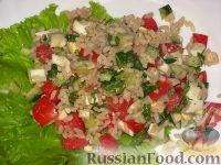 Фото к рецепту: Салат по-японски