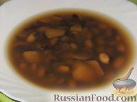 Фото к рецепту: Фасолевый суп на говяжьем бульоне
