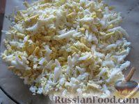 Фото приготовления рецепта: Салат куриный с грибами - шаг №9