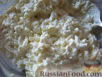 Фото приготовления рецепта: Салат куриный с грибами - шаг №10