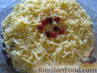 Фото приготовления рецепта: Салат куриный с грибами - шаг №13
