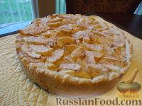 Фото к рецепту: Самый вкусный яблочный пирог